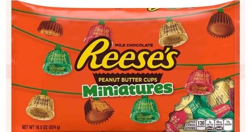 Christmas Reese's Miniatures