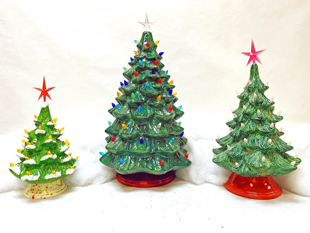 """<span style=""""font-size:36px""""><strong>Ceramic Christmas Tree Painting</strong></span>"""