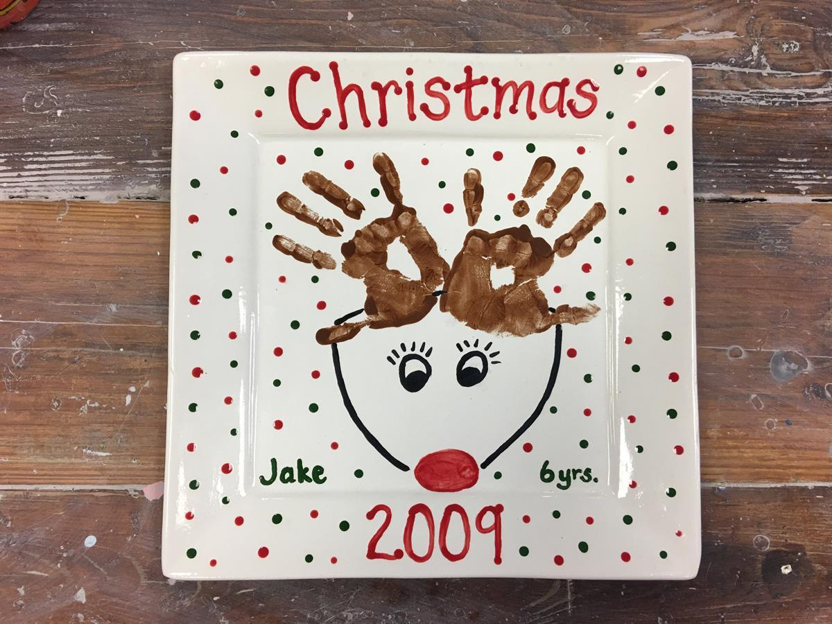 """<strong><span style=""""font-size:36px"""">Reindeer Plate Mommy and Me Class!</span></strong>"""