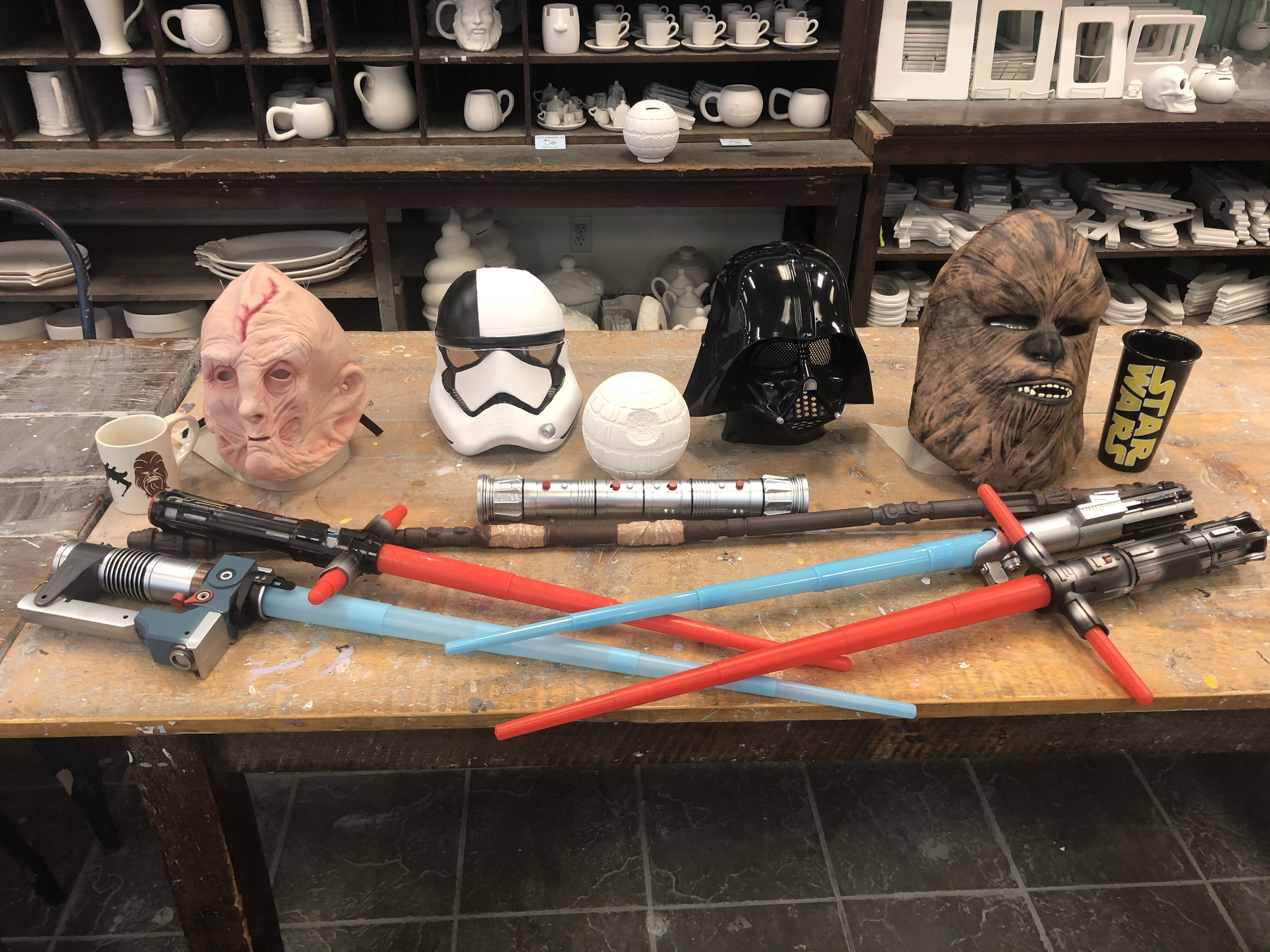 """<span style=""""font-size:36px""""><strong>Star Wars Painting Party!</strong></span>"""