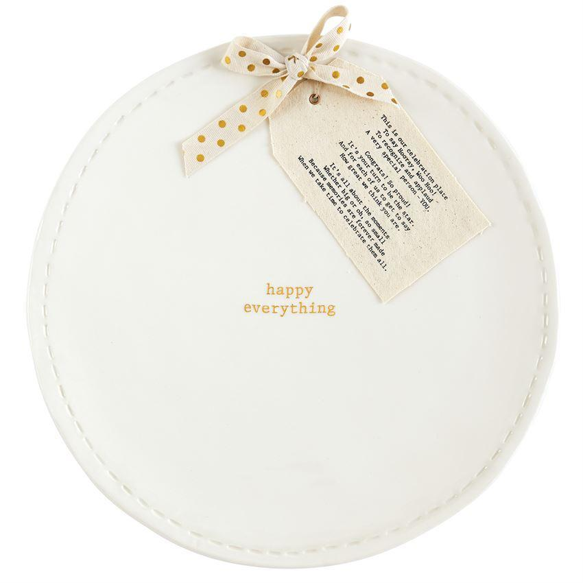 Happy Everything Poem Plate