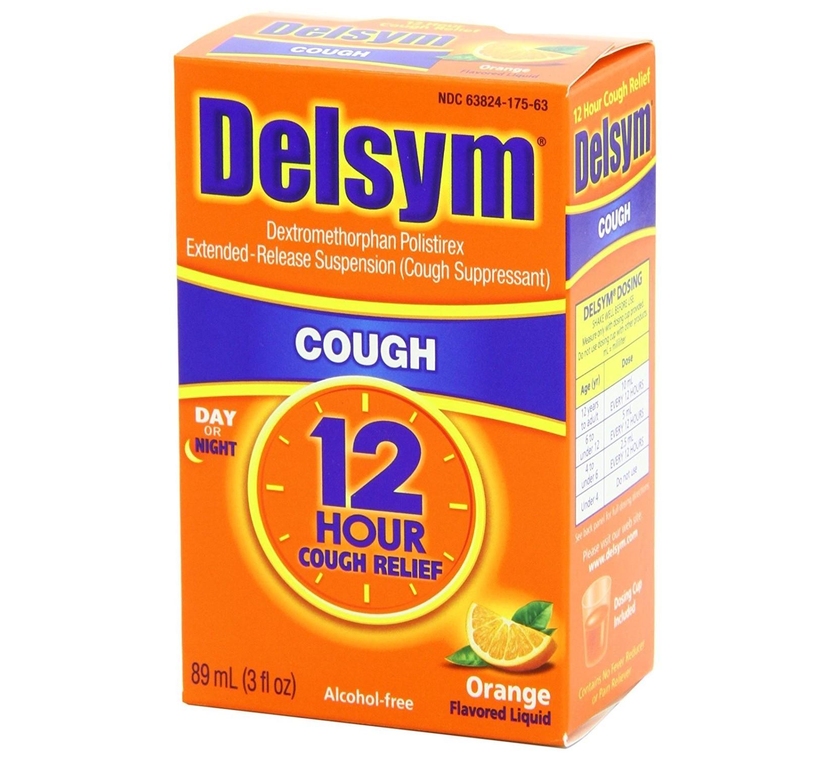 Delsym Cough Medicine 3oz
