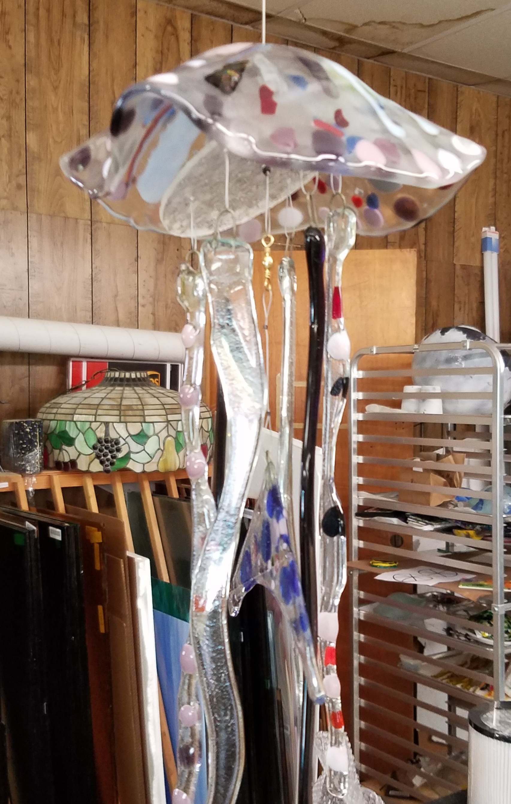 Jelly Fish Wind Chimes 12/2