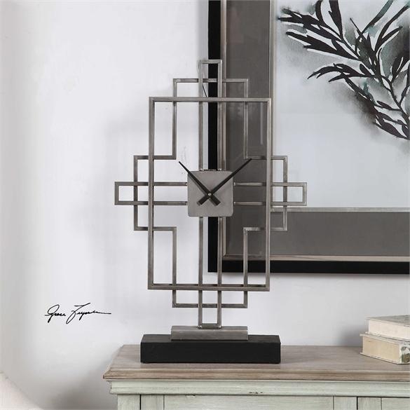 Uttermost Mantel Clock