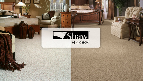 Shaw Wall to Wall Carpet: Approx 600 sq ft @ $2.99 sq ft (sale price). Choose your style & color!