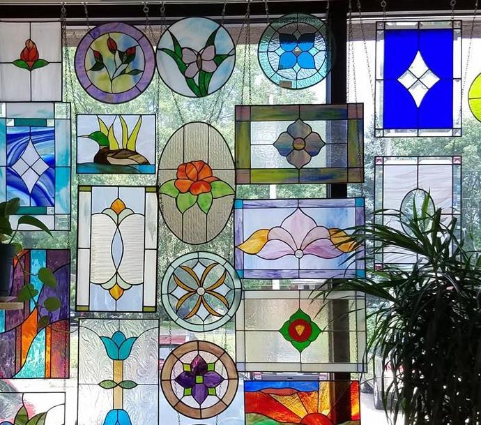 """<span style=""""font-size:14px"""">Basic Stained Glass 101 </span>"""