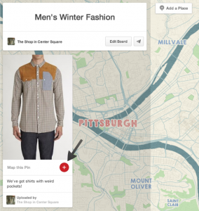 pinterest place pins put your store on the map snapretail