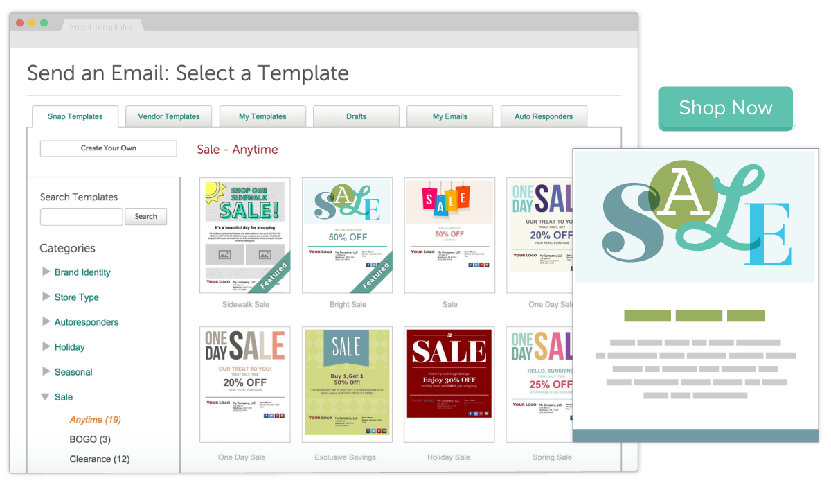 Templates designed for your small business