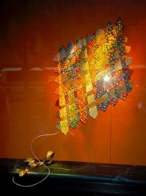 A window display that makes imagination take flight and catches the eye