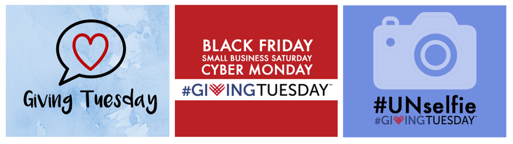 #GivingTuesday Social Media Images from SnapRetail