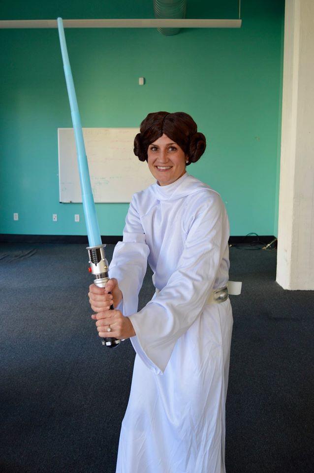 Tara as Leia