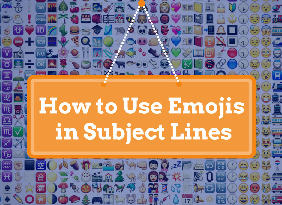 How to Use Emojis in Subject Line Sign
