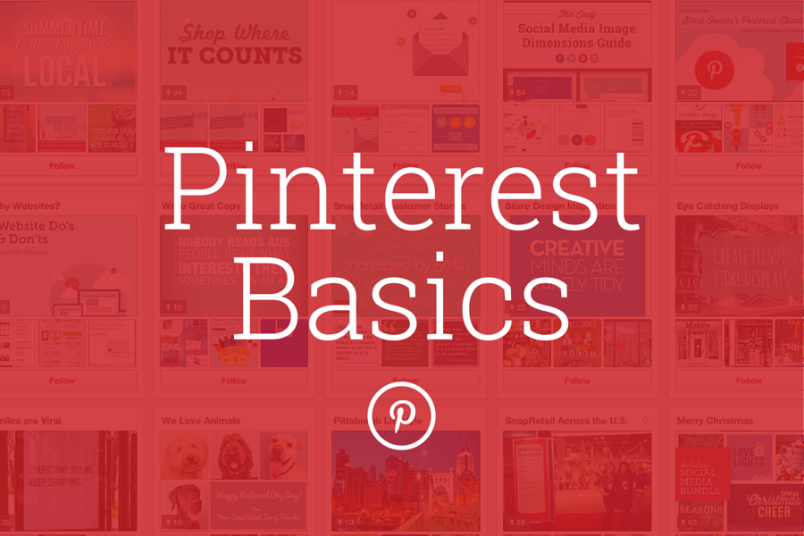 Pinterest Basics Header Image