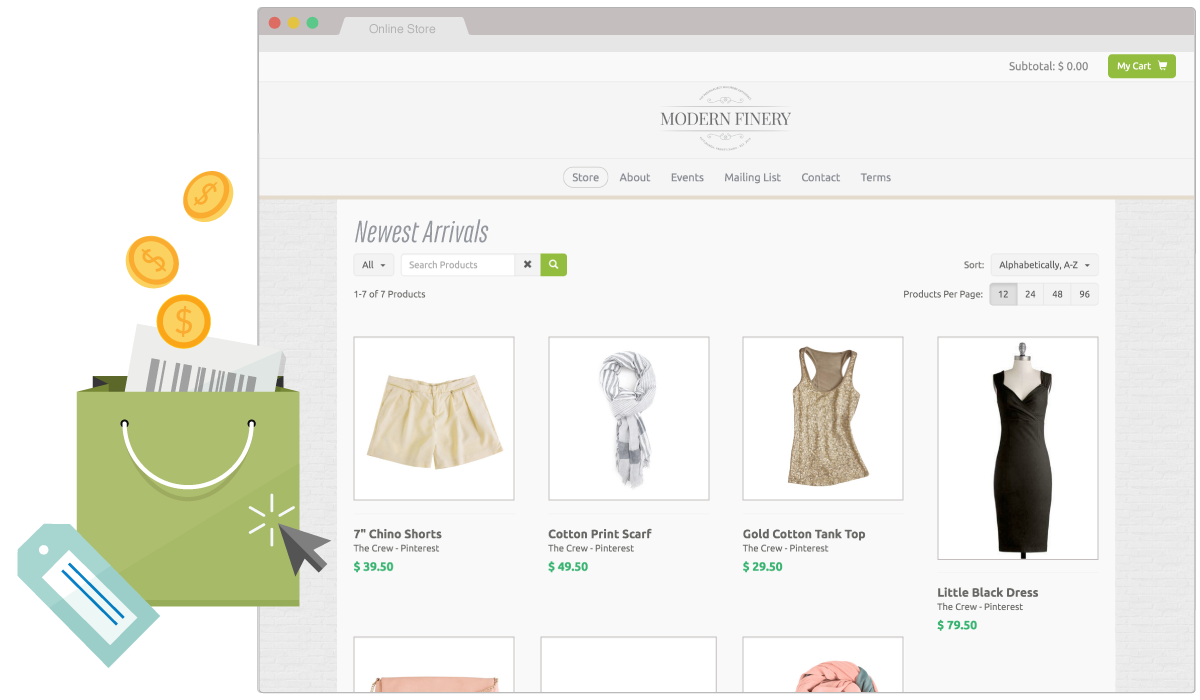 Sell products in your own online store with SnapRetail and Shopify