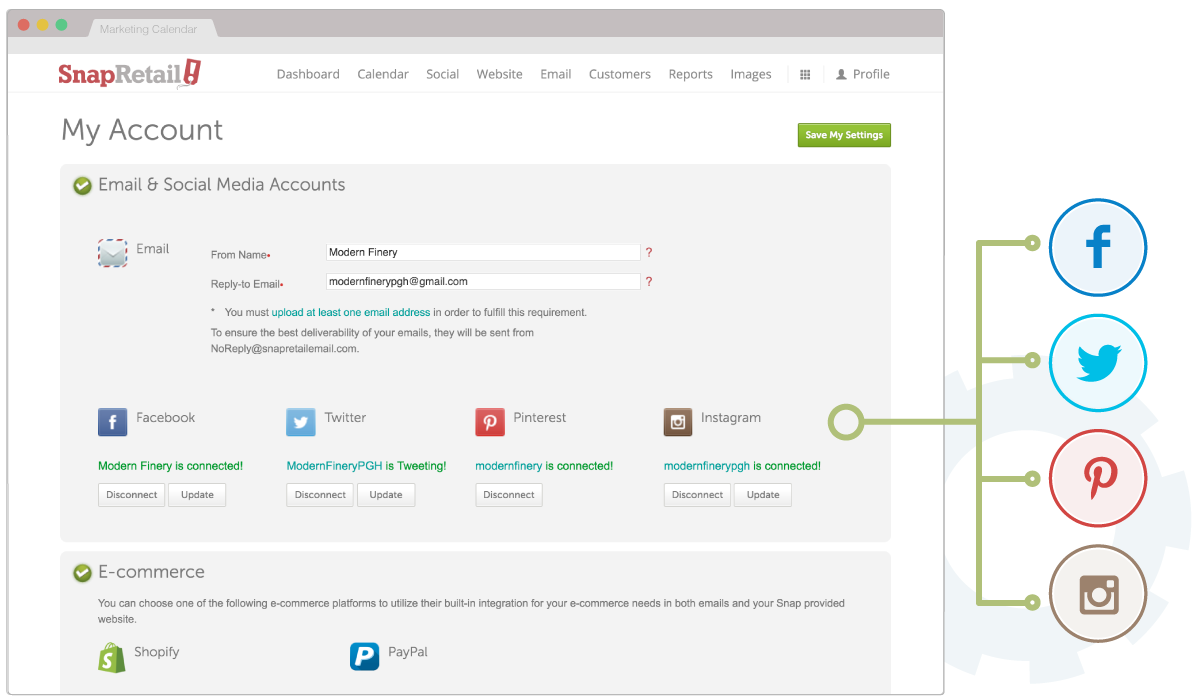 Manage and schedule all of your social media in one place