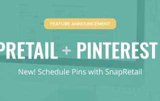 Schedule your Pinterest Pins with SnapRetail's Marketing Calendar for your Small Business. SnapRetail and Pinterest is Love.