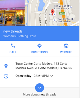 new threads google my business results 2