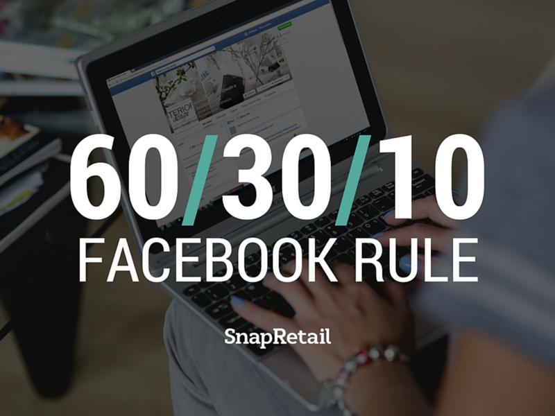 Facebook Rule 60-30-10
