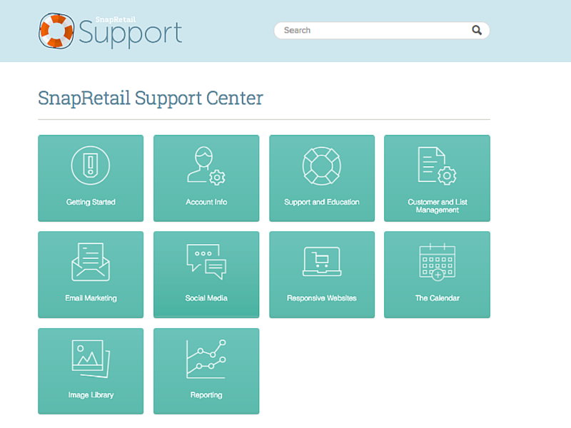 SnapRetail Support Center