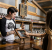 Man uses POS integrations at small business