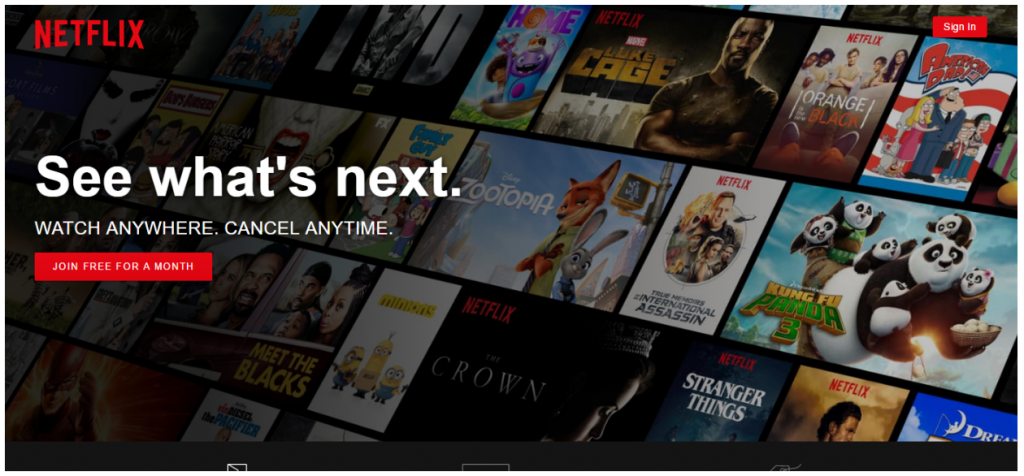 Netflix.com CTA